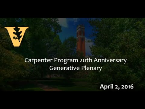 Carpenter Program In Religion, Gender, And Sexuality 20th Anniversary Celebration Generative Plenary