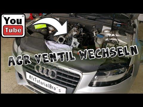 Audi A4 B8 2.0tdi AGR wechseln Vw Seat Skoda / EGR Valve Remove