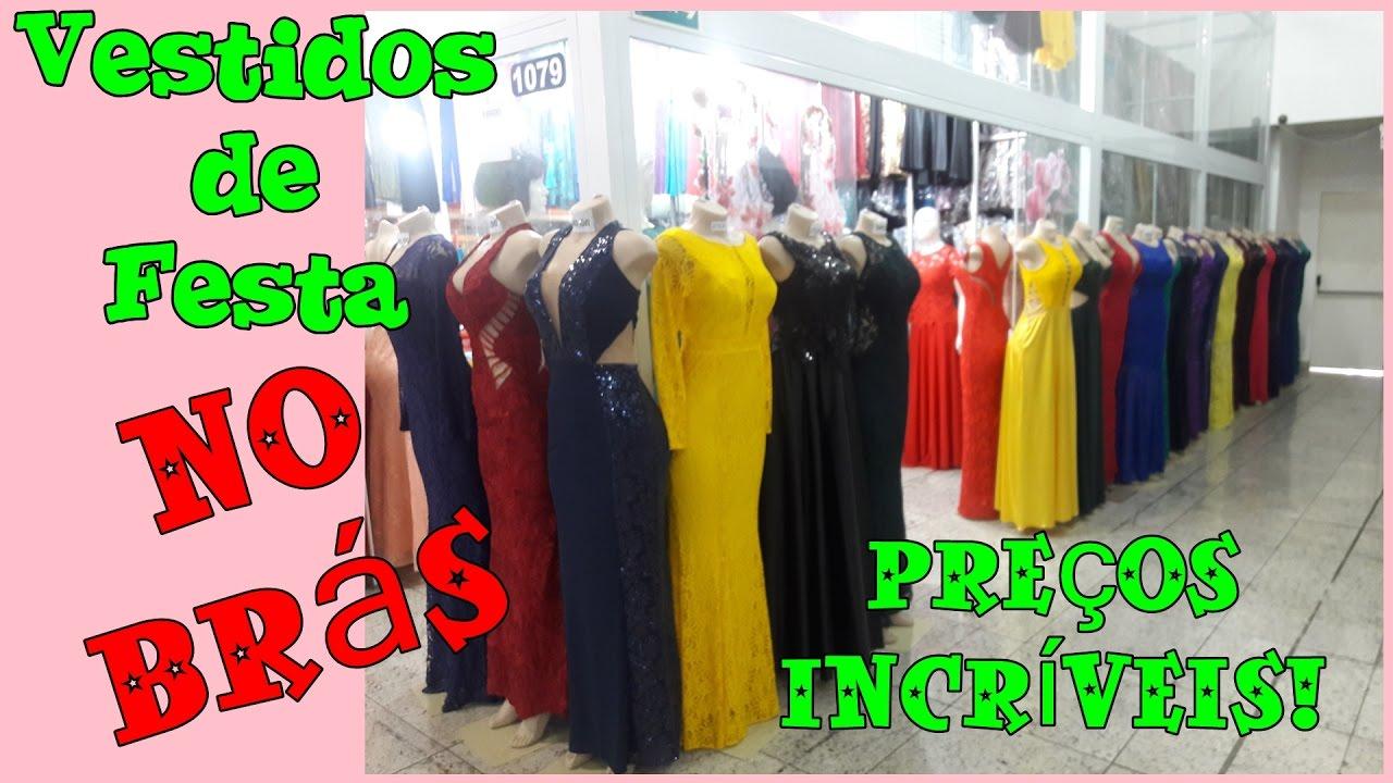 582140e4b Onde comprar Vestidos de Festa no Brás - 👗 - YouTube
