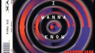 Masterjam - I Wanna Know (Club Mix)