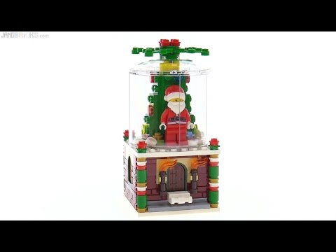 LEGO 2016 limited-edition holiday Snowglobe reviewed!