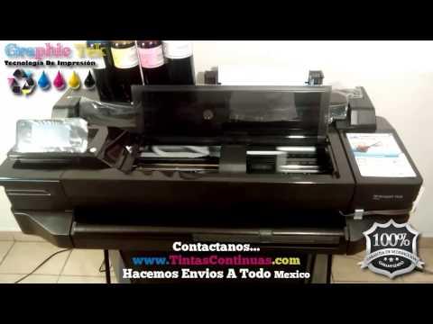 Sistema Tinta Continua Cartuchos Hp 711 Para Plotter Hp