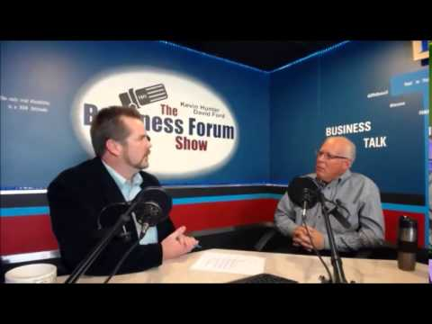 Robert Bauman Fan Fare Promotions on The Business Forum Show with Kevin Hunter