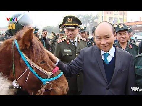 Đầu năm nói về ngựa của lực lượng Cảnh sát Cơ động Kỵ binh Việt Nam