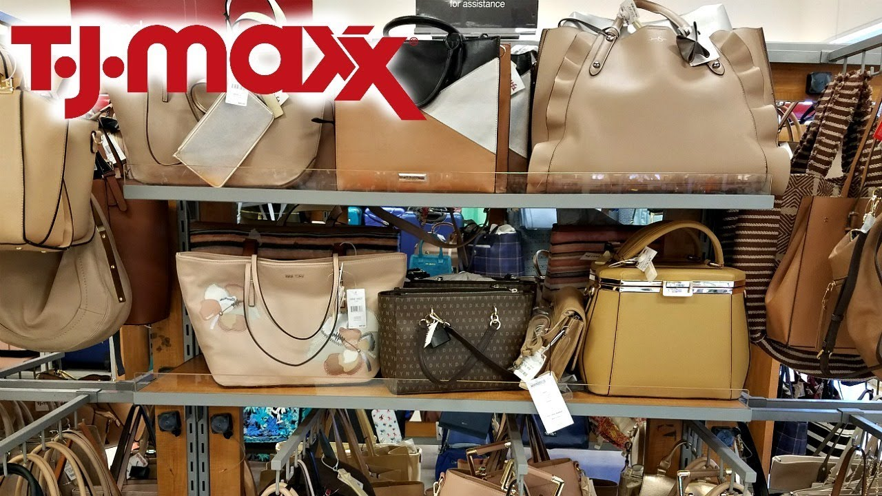 6b3e2366bc0f Shop With ME TJ MAXX DESIGNER HANDBAGS DOONEY & BOURKE 2018 - YouTube