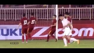 Highlights ĐT Việt Nam 5 -2 CHDCND Triều Tiên  6/10/ 2016 HAGL Nổ Súng
