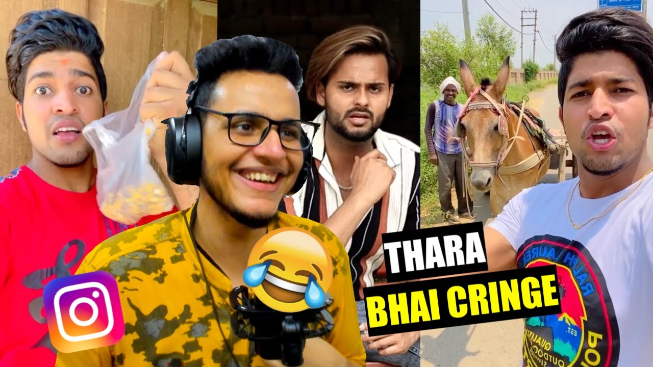 Thara Bhai Joginder is the Funniest Instagram Reeler | Fake Helping Pranksters of Facebook