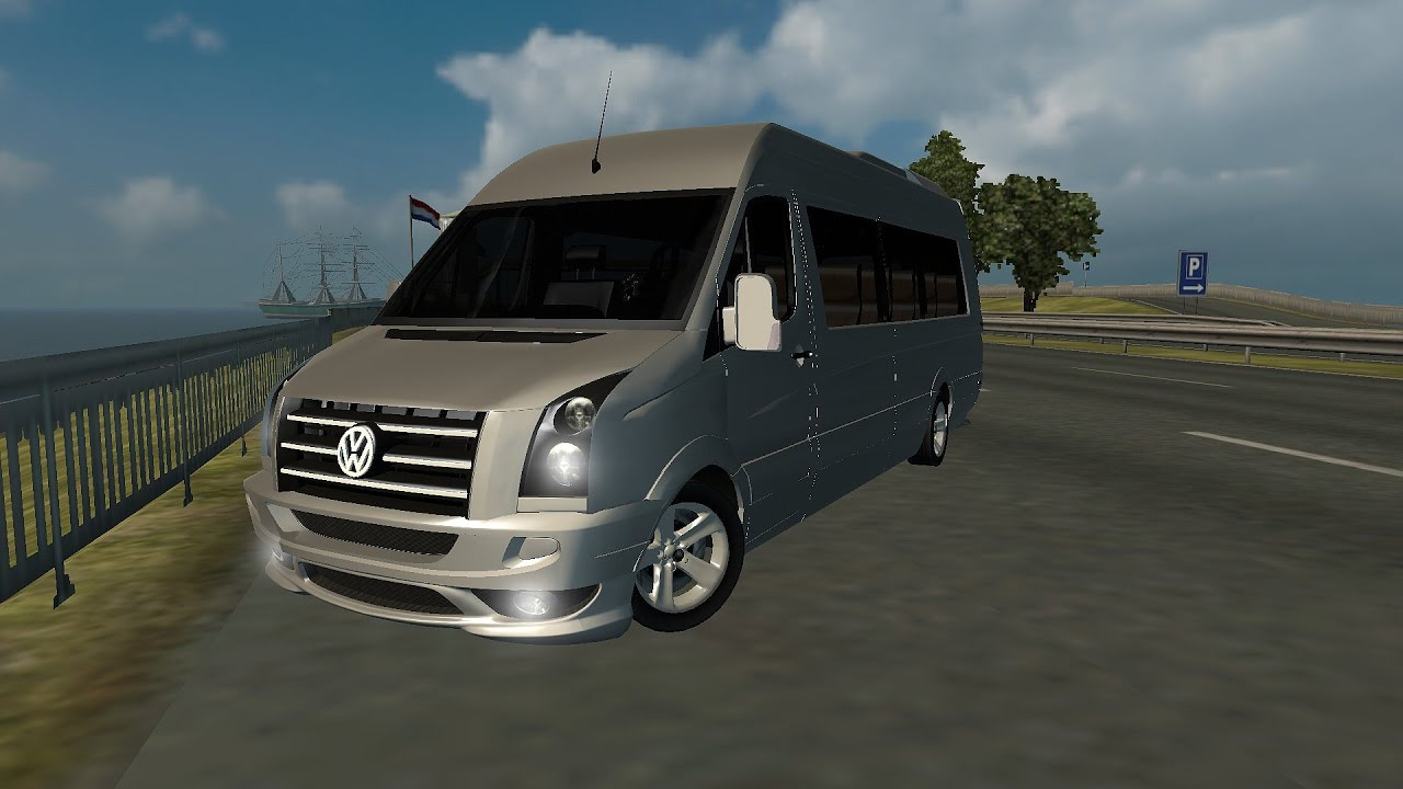 ets2 vw crafter tuning logitech g27 euro truck. Black Bedroom Furniture Sets. Home Design Ideas