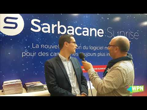WPN Paris Retail Week 2017 - ITW Sarbacane