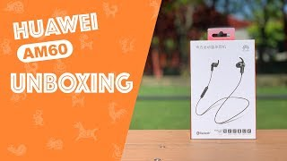 Huawei AM60 Sport Bluetooth Headphones Unboxing and Review