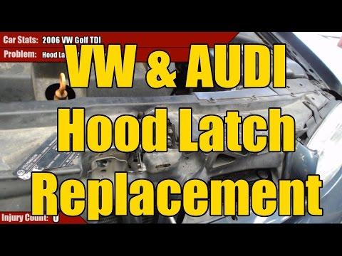 VW Mk4 Golf TDI Hood Latch Replacement