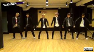 Teen Top - Rocking (dance practice) DVhd