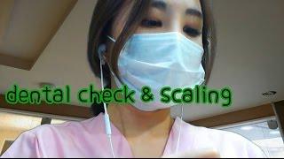korean한국어asmr/치과 롤플레이/dental check up & scaling/진동주의/binaural/soft speaking