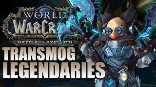 TRANSMOG LEGENDARY WEAPONS IN PATCH 8.3! What Are The Restrictions?