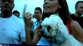 Riviera Rescue -CAPS, Santa Cruz SPCA, SDA airlift homeless dogs to Nice, France