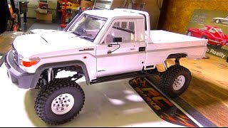 "A Quick Body Build! ""KiLLERBODY"" LAND CRUiSER LC70 4WD Kit / RC4WD TF2 LWB 