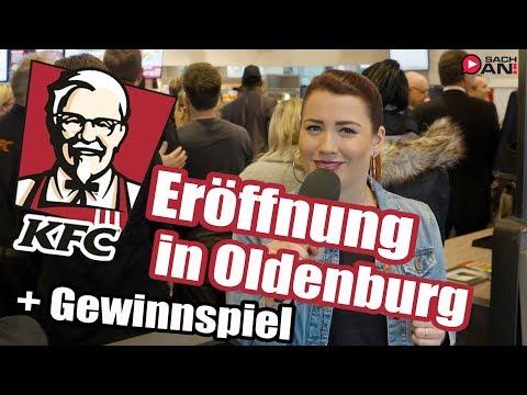 KFC-Eröffnung in Oldenburg + GEWINNSPIEL |► SACH AN!