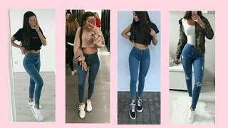 OUTFITS CASUALES CON JEANS | LOOKS CASUALES CON JEANS | Lindas Vanidosas
