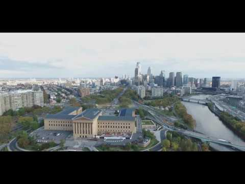 Philadelphia (part 6) - Museum of Art, Center City & Fairmount Park (Aerial View)