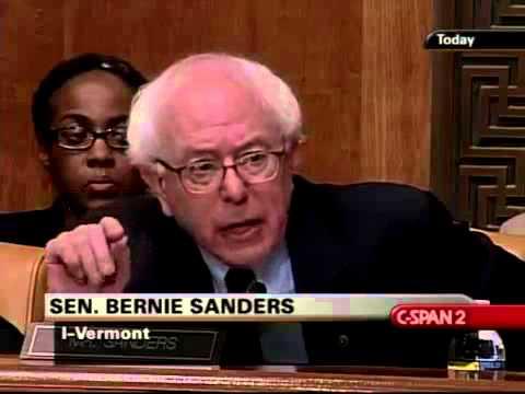 Bernie Sanders Grills Tim Geithner (1) [2/11/2009]