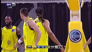 Άρης - Παναθηναικός 70-84 (13/10/2018)  Στιγμιότυπα   Basket League 2η Αγωνιστική