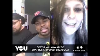 YouNow Broadcast #8  PORN, GAMING, TRIPLE H, HODGE TWINS, TORNADOS!!!