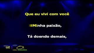 Banda Calypso & Amado Batista Quem ama não deixa de amar - Karaokê