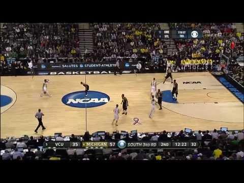 2013 NCAA Tournament Third Round #4 Michigan vs. #5 VCU
