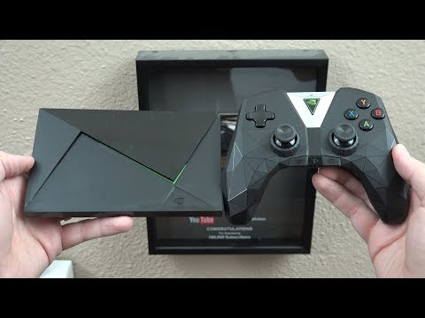 NVIDIA SHIELD TV Streaming Media Player with Remote & Game Controller (NEWEST VERSION)