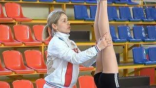"Акробатика для гимнасток. Урок провела участница конкурса ""Педагог года"""