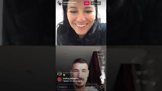 Курбан Омаров беседует с подругой Бородины, Instagram 03-11-2017
