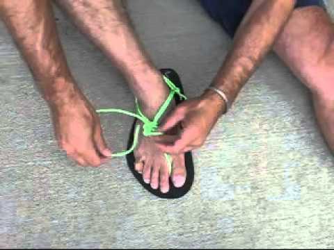 How Tarahumara Xero Running Shoes Tie To Huaraches HD92IE