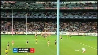 Round 7 AFL - Melbourne v Hawthorn match summary