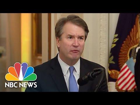 Watch Brett Kavanaugh's Full Speech At Supreme Court Justice Swearing-In Ceremony   NBC News