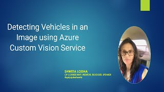 Detecting Vehicles in an Image using Azure Custom Vision Service