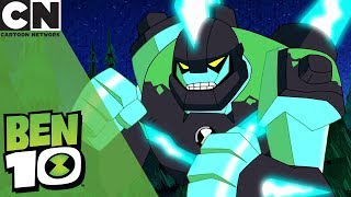 Ben 10 | Upgraded Diamondhead VS Giant Bat Monster | Cartoon Network