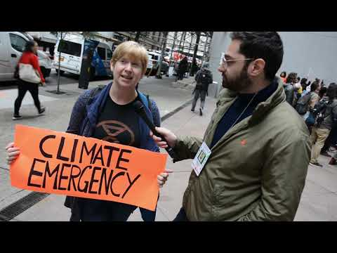 Climate Justice Protesters SHUT DOWN Entrance to Blackrock