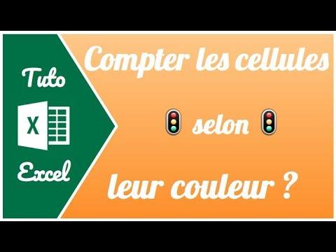 Comment compter les cellules selon leur couleur sur Excel ?
