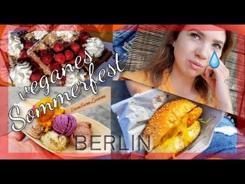FOOD PORN🍩  auf dem VEGANEN SOMMERFEST BERLIN + TRÄNEN💧? Food + FMA Berlin | Katharina Müller