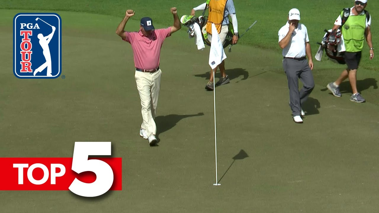 Top-5 Shots of the Week   Mayakoba Golf Classic