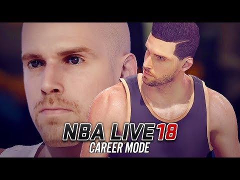 NBA LIVE 18 Career Mode - Ep 1 - BEST FACE SCAN EVER?!! (NBA Live 18 The One #1)