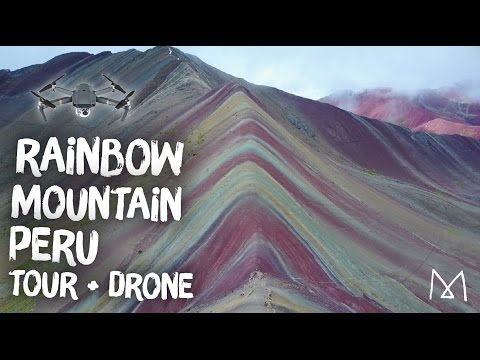 Rainbow Mountain Hike Cusco Peru + Rare Drone Footage!