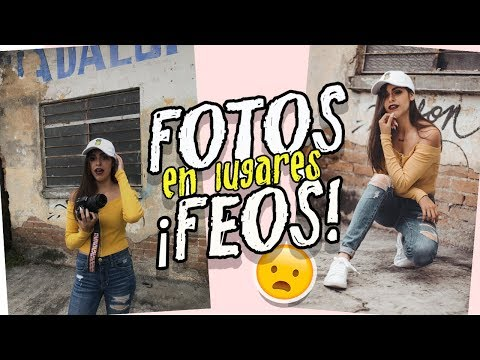 fotos COOL en lugares FEOS ! UGLY LOCATION CALLENGE