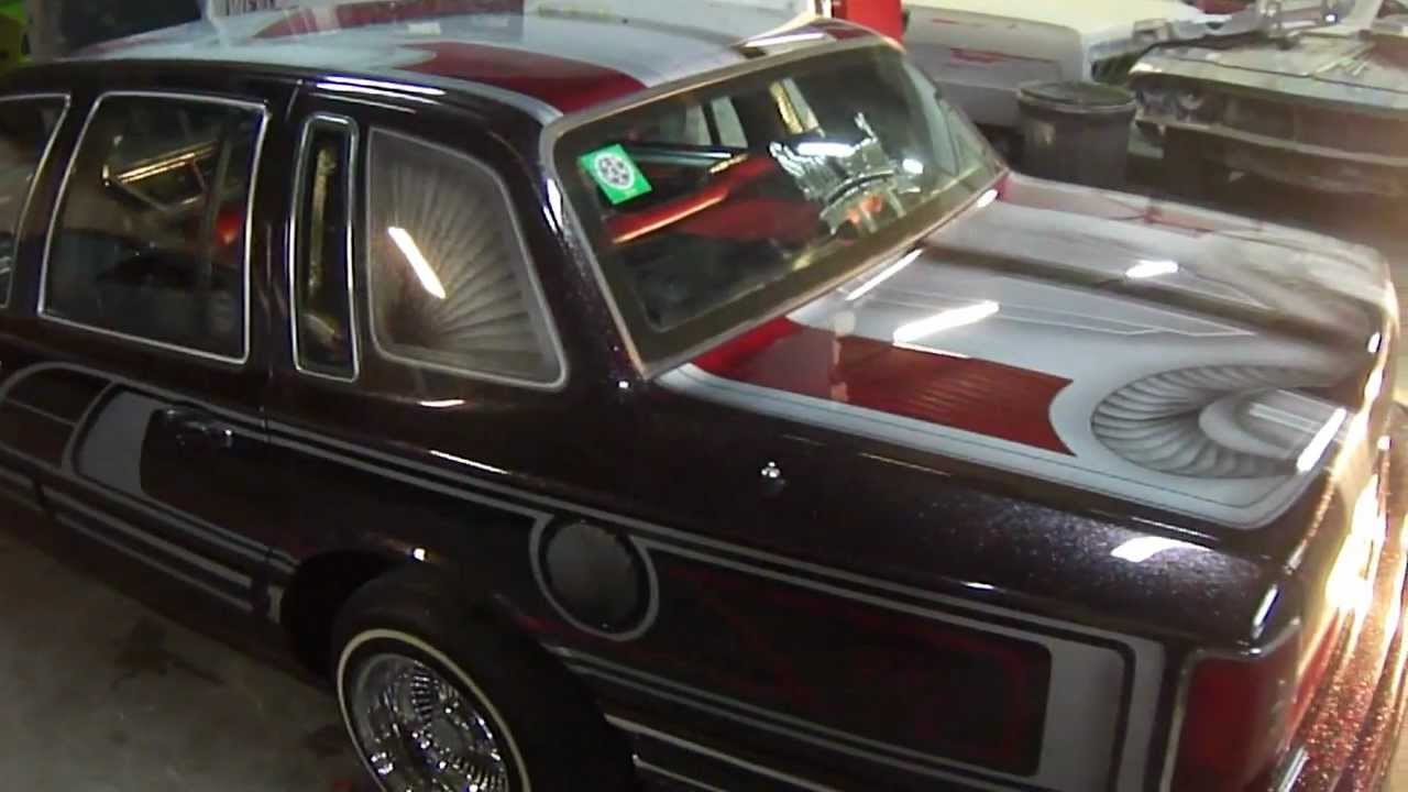 Lincoln Lowrider Kandy Painted Graphics Johns