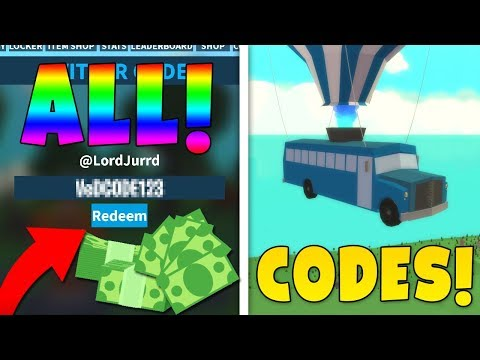 *ALL* NEW ISLAND ROYALE CODES! FREE BUCKS! (Roblox)