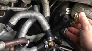 Heater Hose  Fix Town & Country, Dodge Caravan, Vw Routan Van Heater Hose Leak Repair Fixed