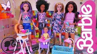 Barbie Skipper Klub Opiekunek  NOWOŚĆ 2018  Nowe przyjaciółki  Openbox z lalkami