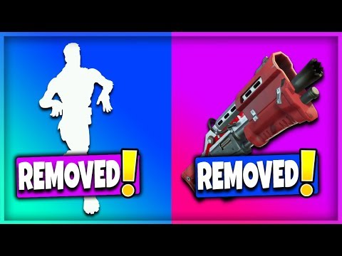 10 MORE THINGS That Have Been REMOVED From Fortnite! (Fortnite Battle Royale) | Factory & Old Dance!