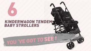 Kinderwagon Tendem Baby Strollers Collection // New & Popular 2017
