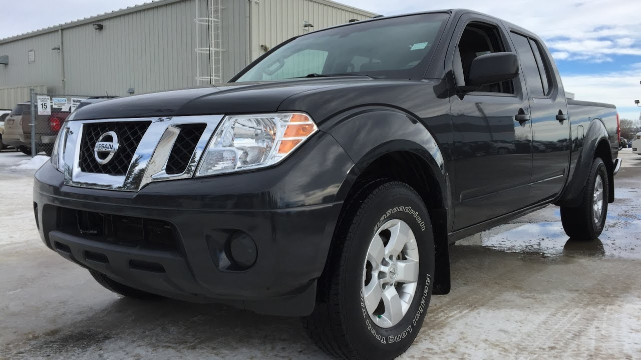 2013 nissan frontier crew cab used truck black 4x4 16n007b youtube. Black Bedroom Furniture Sets. Home Design Ideas